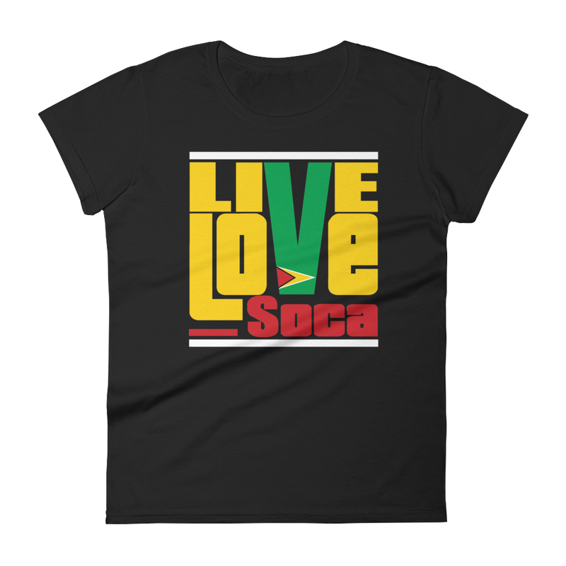 Guyana Islands Edition Womens T-Shirt - Live Love Soca Clothing & Accessories