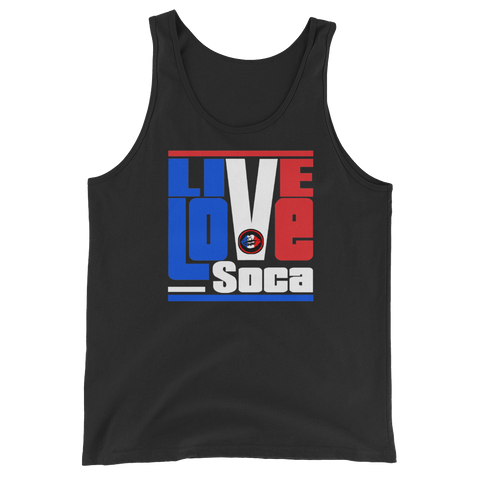 Euro Edition FKW - French Kiss & Wine Unisex Tank Top - Live Love Soca Clothing & Accessories