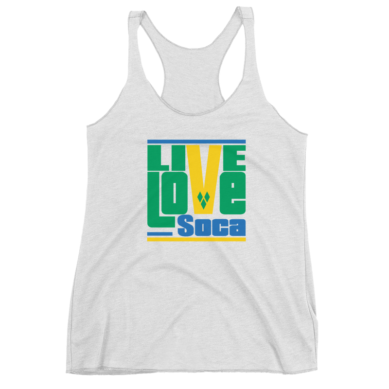 Saint Vincent Islands Edition Womens Tank Top