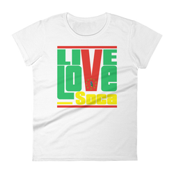 Dominica Islands Edition Womens T-Shirt - Live Love Soca Clothing & Accessories