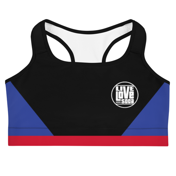 Island Active Belize Sports Bra - Live Love Soca Clothing & Accessories