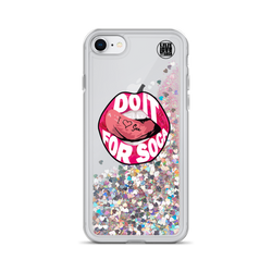 Endless Summer 20 DIFS - Sweet Soca Lips Glitter iPhone Case