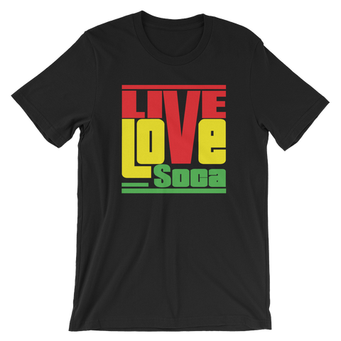 Rasta Mens T-Shirt - Live Love Soca Clothing & Accessories