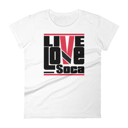 Trinidad & Tobago Islands Edition Womens T-Shirt - Live Love Soca Clothing & Accessories