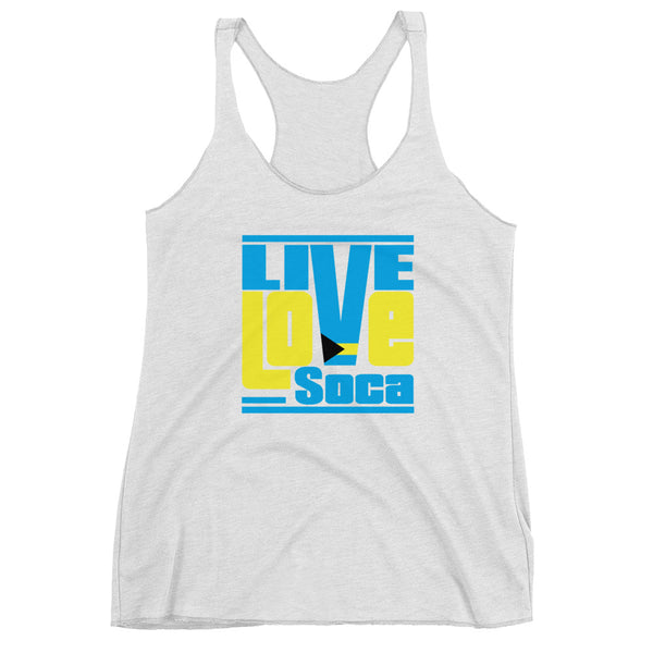 Bahamas Islands Edition Womens Tank Top - Live Love Soca Clothing & Accessories