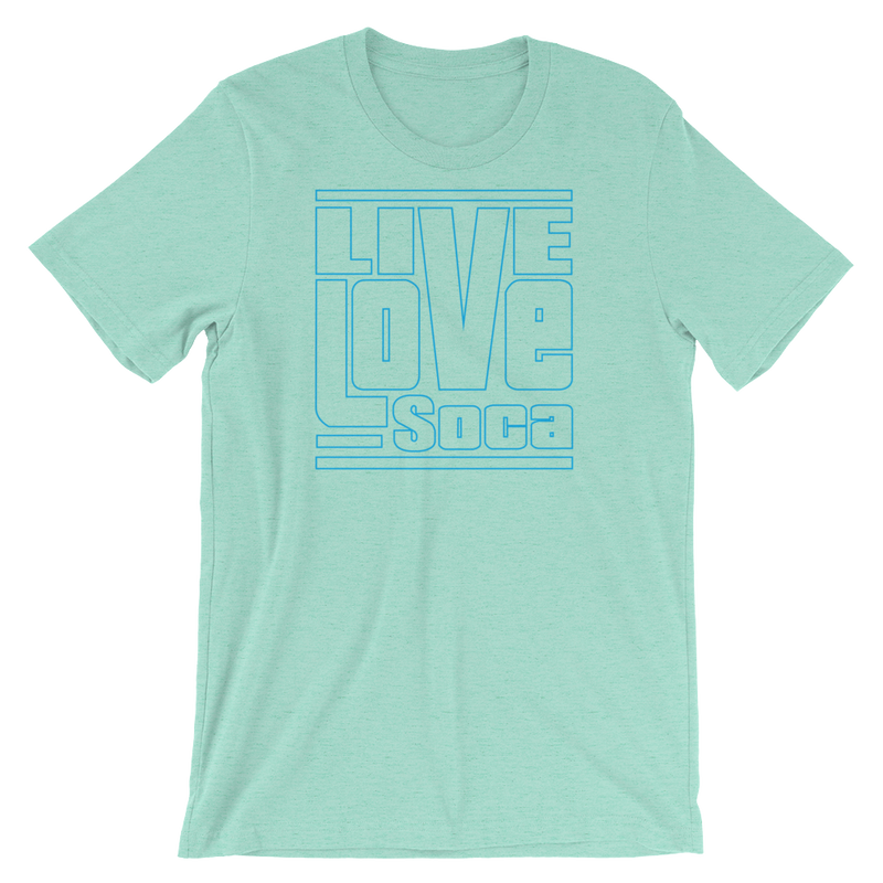 Live Love Soca OTL-Sleeve Mens T-Shirt - Live Love Soca Clothing & Accessories