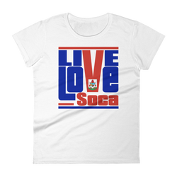 Bermuda Islands Edition Womens T-Shirt - Live Love Soca Clothing & Accessories