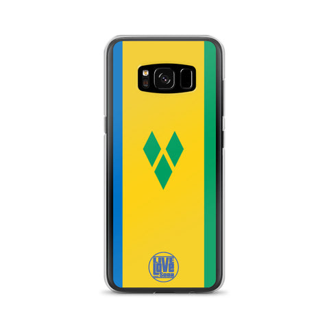 St. Vincent Samsung Phone Cases - Live Love Soca Clothing & Accessories
