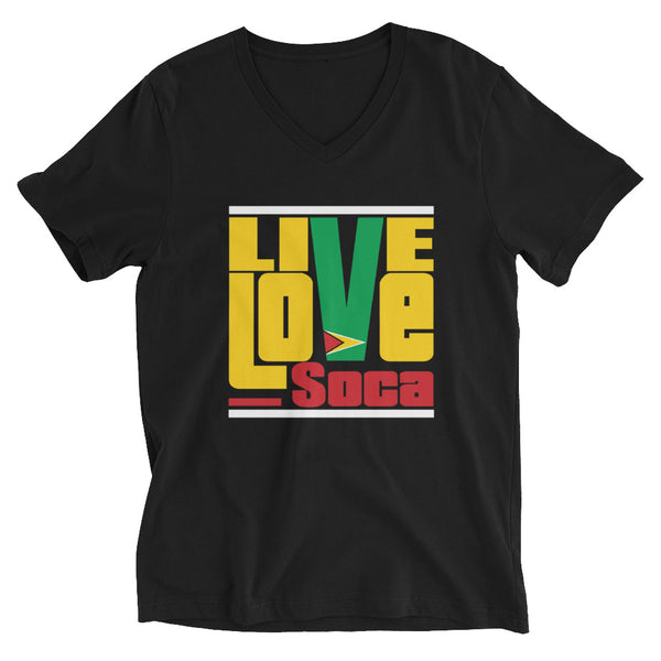 Guyana Islands Edition Womens V-Neck T-Shirt - Live Love Soca Clothing & Accessories