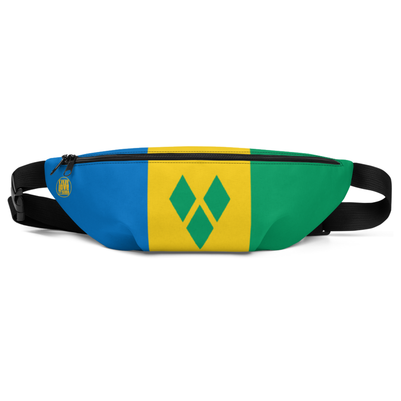 Saint Vincent & The Grenadines Waist Bag - Live Love Soca Clothing & Accessories