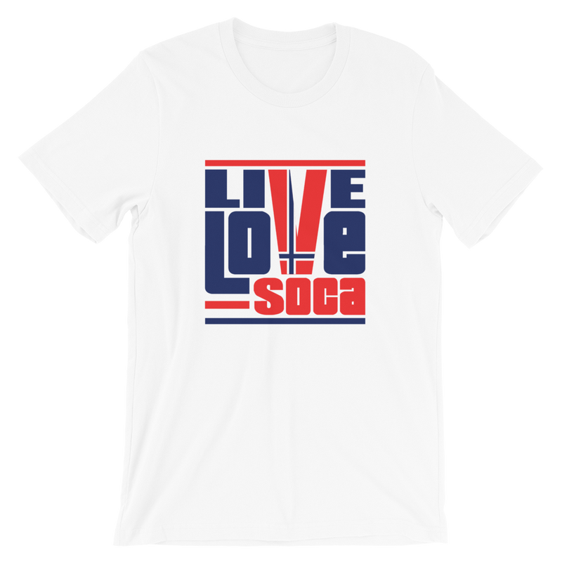 Norway Euro Edition White Mens T-Shirt - Live Love Soca Clothing & Accessories