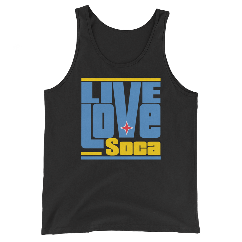 Aruba Islands Edition Mens Tank Top - Live Love Soca Clothing & Accessories