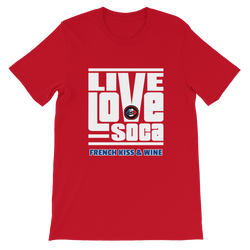 FKW V2 Mens Red T-Shirt - Live Love Soca Clothing & Accessories