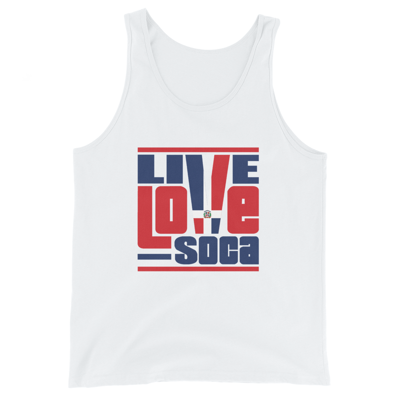 Dominica Republic Islands Edition Mens Tank Top - Live Love Soca Clothing & Accessories