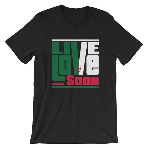 Algeria Africa Edition Mens T-Shirt - Live Love Soca Clothing & Accessories