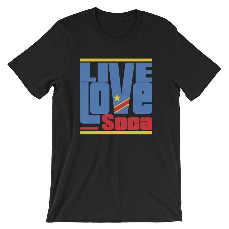 Congo Africa Edition Mens T-Shirt - Live Love Soca Clothing & Accessories