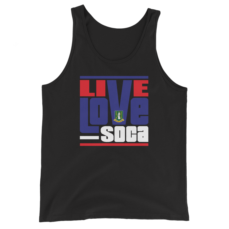 British Virgin Islands - Island Edition Mens Tank Top - Live Love Soca Clothing & Accessories