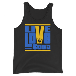 Barbados Islands Edition Mens Tank Top - Live Love Soca Clothing & Accessories