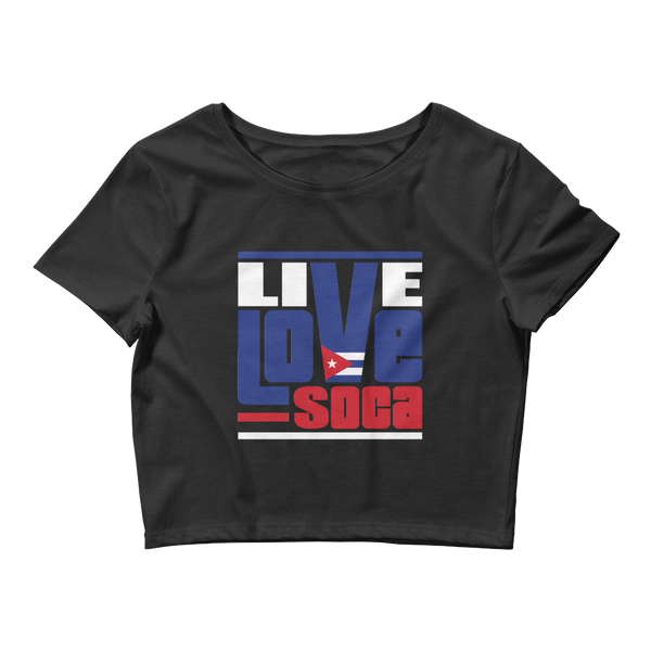 Cuba Islands Edition Womens Crop Tee - Live Love Soca Clothing & Accessories