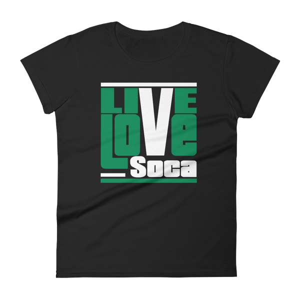 Nigeria Africa Edition Womens T-Shirt - Live Love Soca Clothing & Accessories