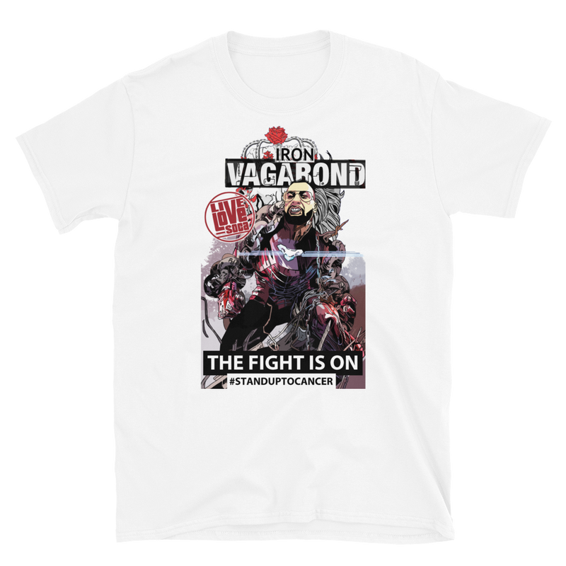 Vince Vagabond Campbell Male T-Shirt ***100% Profit Will Be Donated*** - Live Love Soca Clothing & Accessories