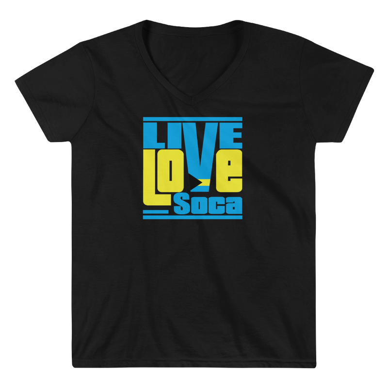 Bahamas Islands Edition Womens V-Neck T-Shirt - Live Love Soca Clothing & Accessories