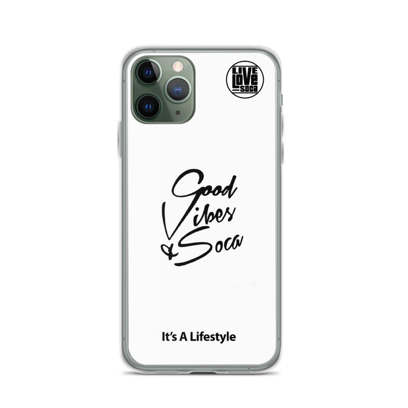 Good Vibes & Soca iPhone Case - Live Love Soca Clothing & Accessories