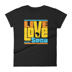 Kente Africa Edition Womens T-Shirt - Live Love Soca Clothing & Accessories