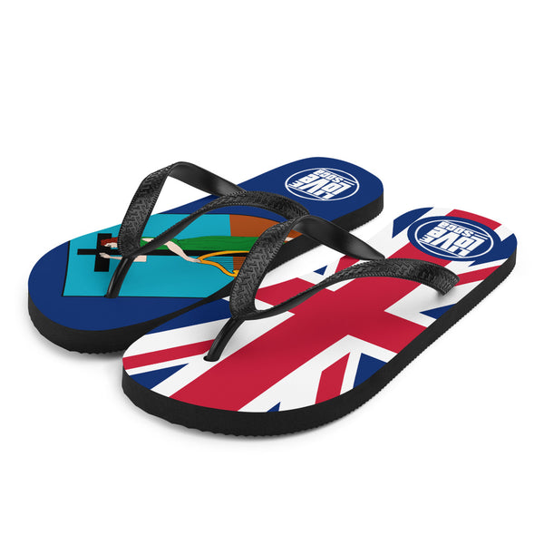 Island Montserrat Flip Flops - Live Love Soca Clothing & Accessories
