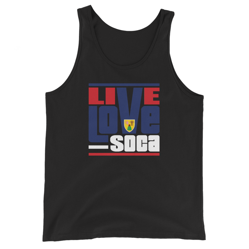 Turks & Caicos Islands Edition Mens Tank Top - Live Love Soca Clothing & Accessories