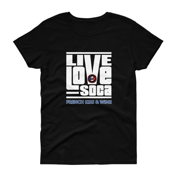 FKW V2 Womens Black T-Shirt - Live Love Soca Clothing & Accessories