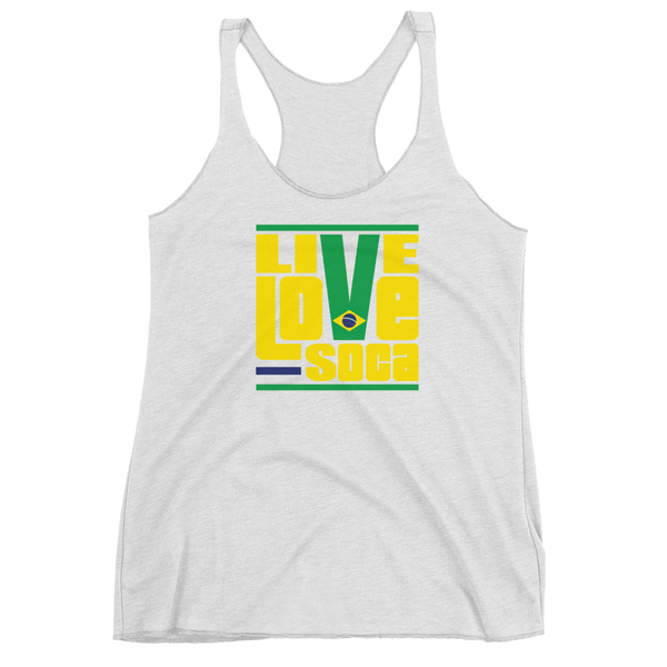 Brazil South America Edition Womens Tank Top - Live Love Soca Clothing & Accessories