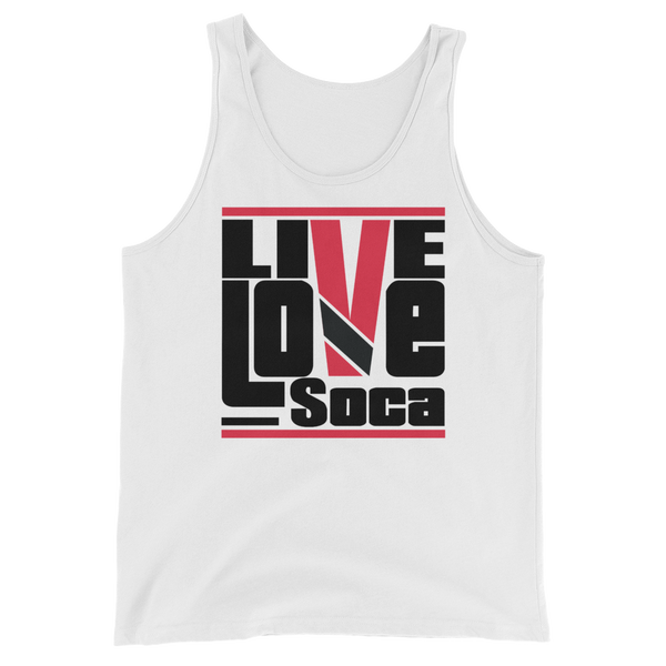 Trinidad & Tobago Islands Edition Mens Tank Top - Live Love Soca Clothing & Accessories