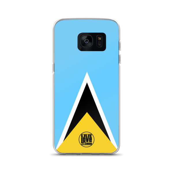 St. Lucia Samsung Phone Cases - Live Love Soca Clothing & Accessories
