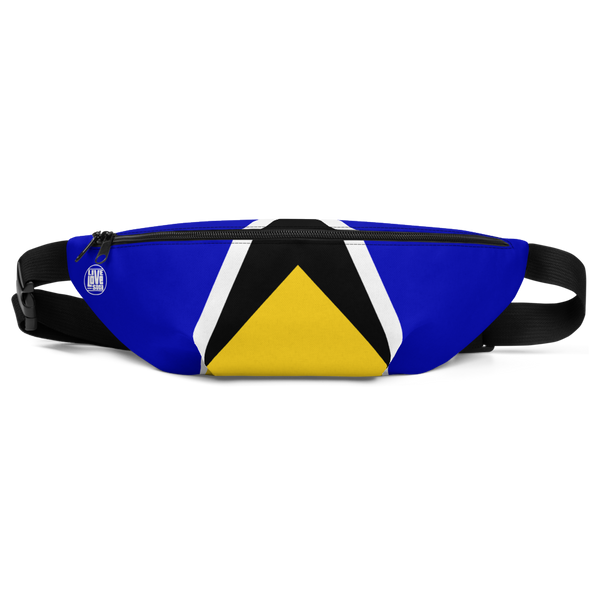 Saint Lucia Waist Bag - Live Love Soca Clothing & Accessories