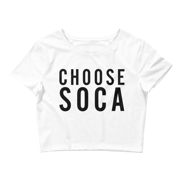Endless Summer Choose Soca Crop Tee - Fitted