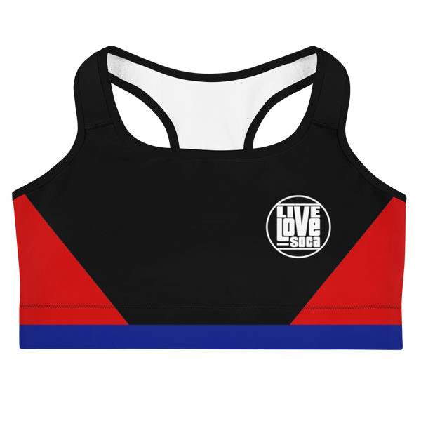 Island Active Bermuda Sports Bra - Live Love Soca Clothing & Accessories