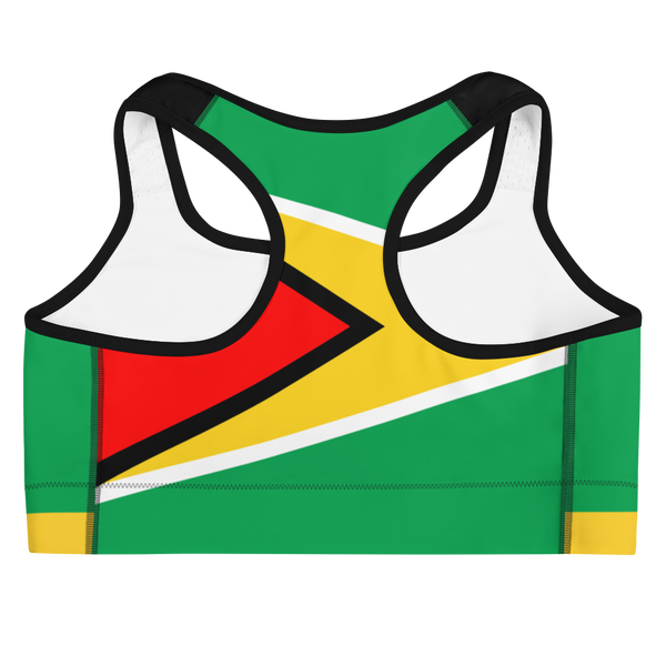 Island Active Guyana Sports Bra - Live Love Soca Clothing & Accessories