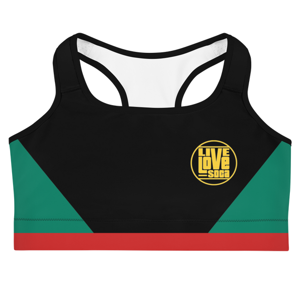 Island Active Grenada Sports Bra - Live Love Soca Clothing & Accessories