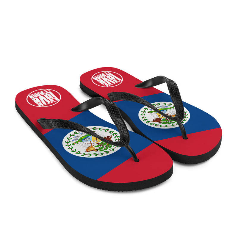 Island Belize Flip Flops - Live Love Soca Clothing & Accessories