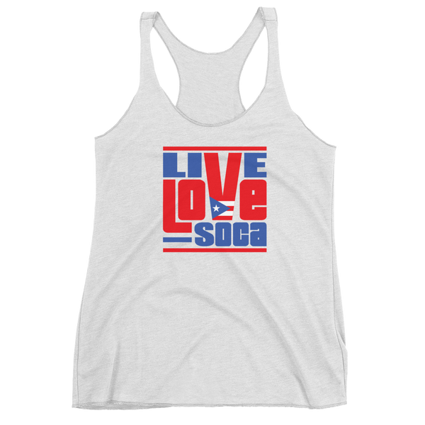 Puerto Rico Islands Edition Womens Tank Top - Live Love Soca Clothing & Accessories