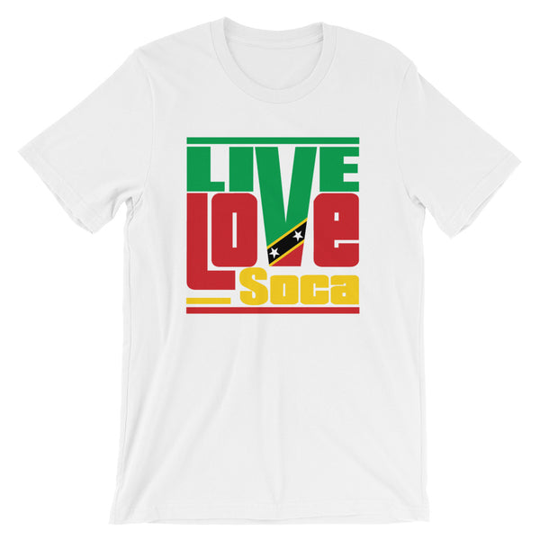 Saint Kitts & Nevis Islands Edition Mens T-Shirt - Live Love Soca Clothing & Accessories