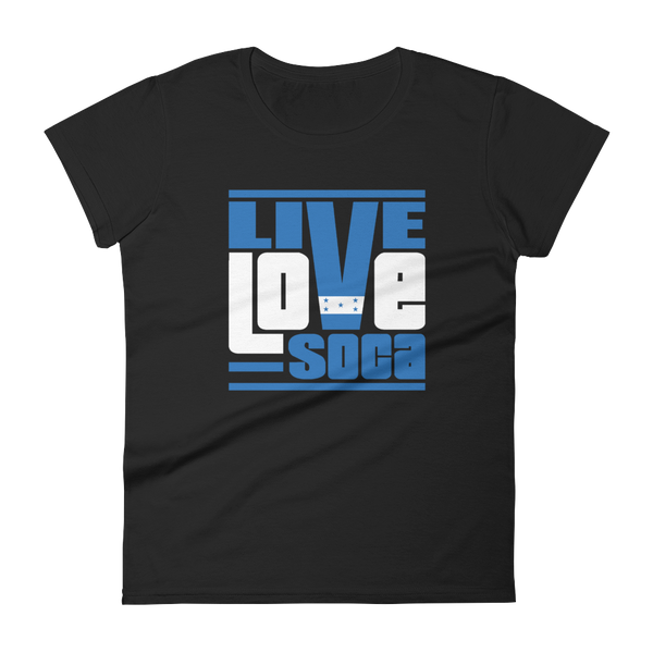 Honduras Islands Edition Womens T-Shirt - Live Love Soca Clothing & Accessories