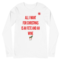All I Want Christmas Long Sleeve Tee