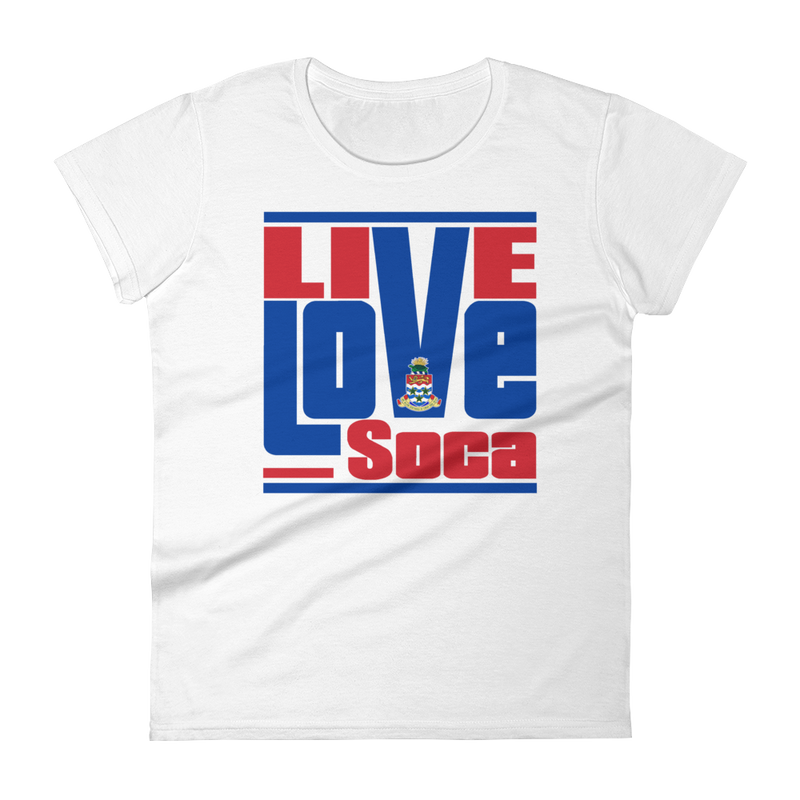 Cayman Islands - Islands Edition Womens T-Shirt - Live Love Soca Clothing & Accessories
