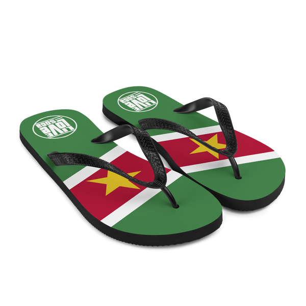 Island Suriname Flip Flops - Live Love Soca Clothing & Accessories