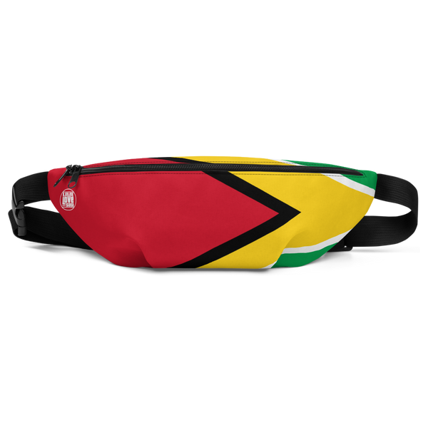 Guyana Waist Bag - Live Love Soca Clothing & Accessories