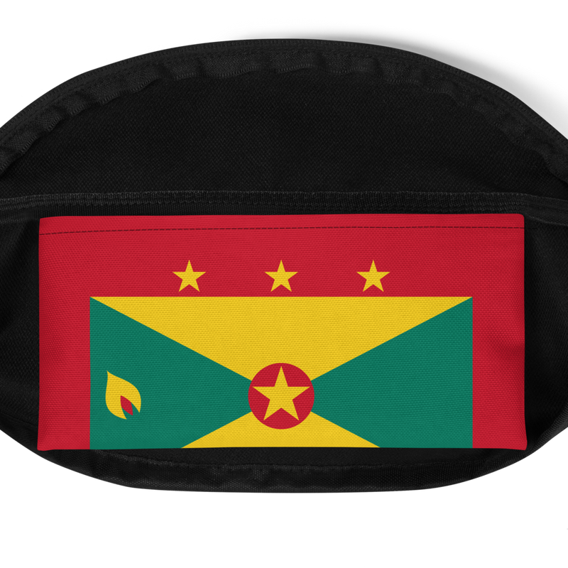 Grenada Waist Bag - Live Love Soca Clothing & Accessories
