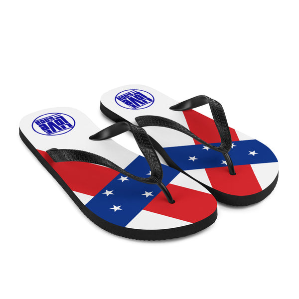 Island Netherands Antilles Flip Flops - Live Love Soca Clothing & Accessories