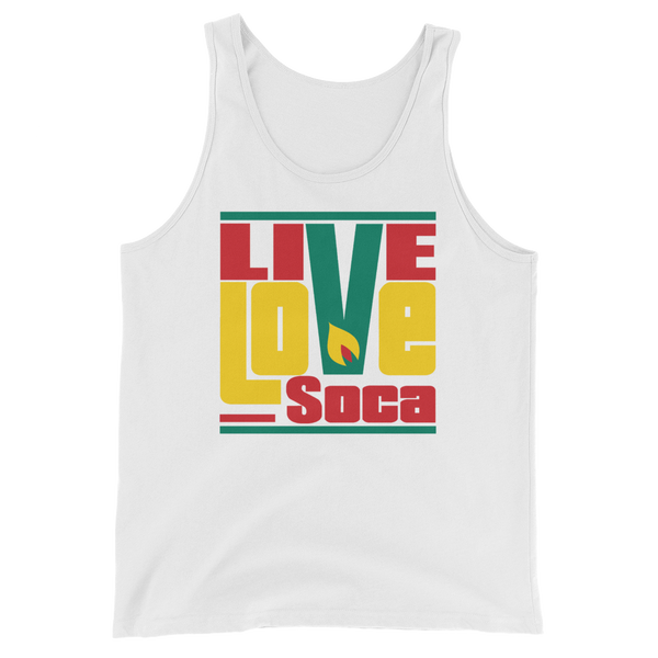 Grenada Islands edition Mens Tank Top - Live Love Soca Clothing & Accessories